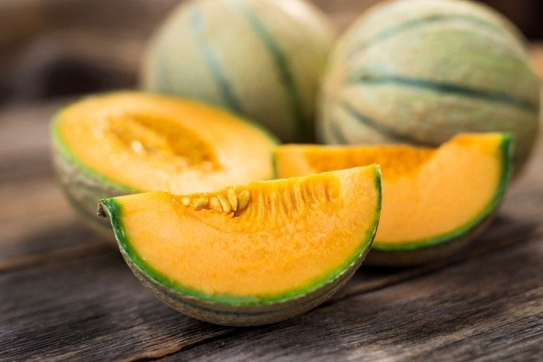 An image of a yellow melon
