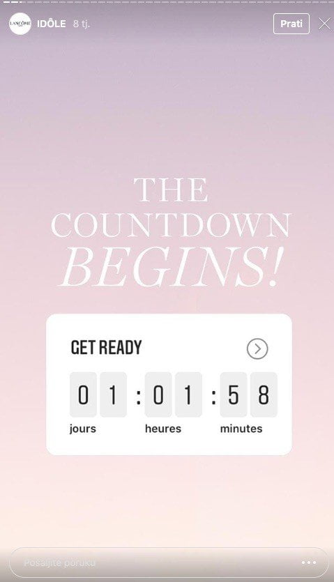 Insta Story Countdown