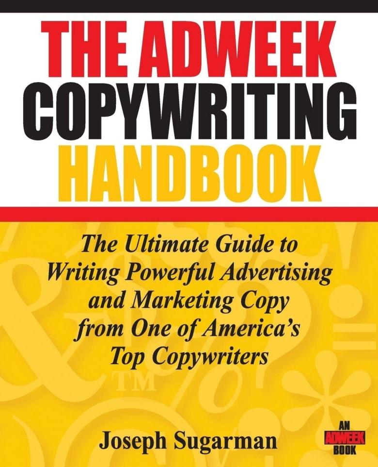A cover of The Adweek Copywriting Handbook