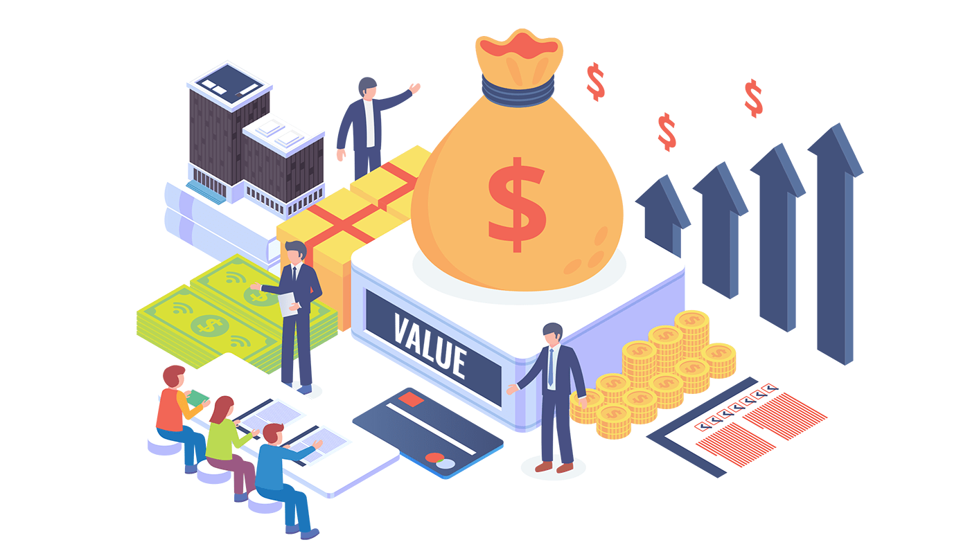 An ilustration of value