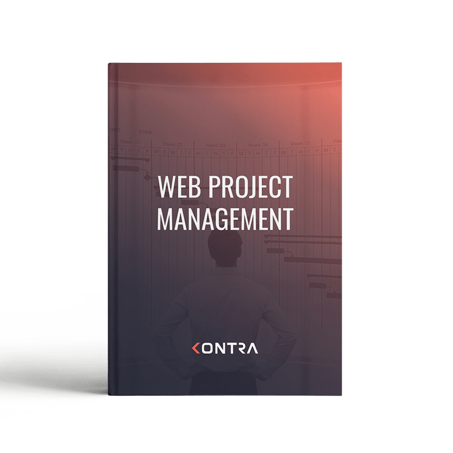 Web project management cover